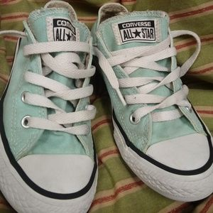 Lightly used size 13 light blue converse